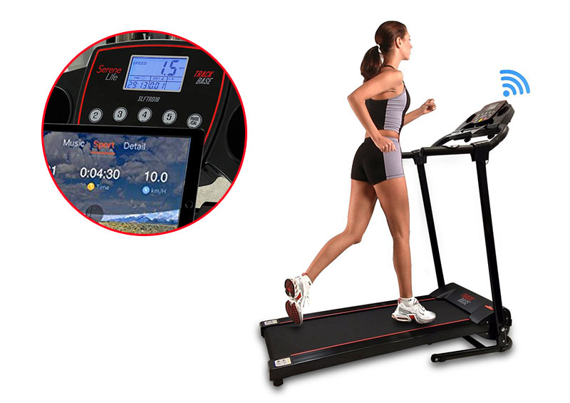 SereneLife Smart Digital Treadmill