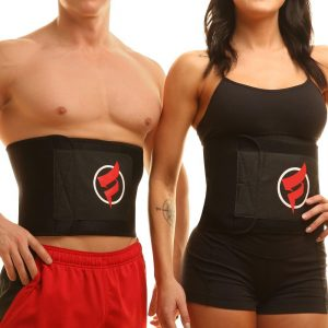 Fitru Waist Trimmer Weight Loss Ab Belt for Men