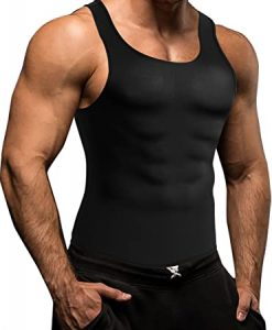 Men Waist Trainer Corset Vest No Zip