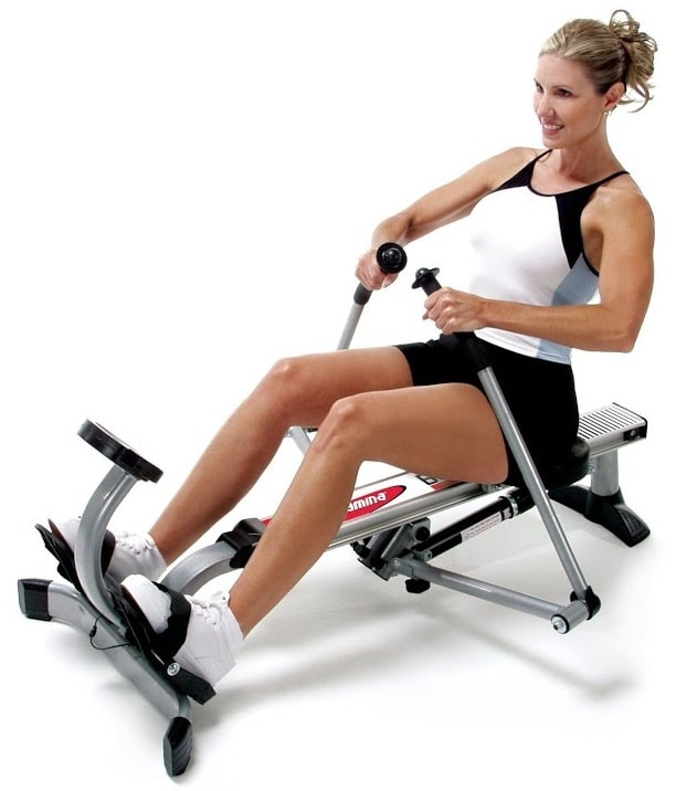 Features of the Stamina Body Trac Glider 1050 Rowing Machine