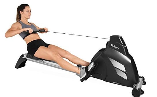 Velocity Exercise Magnetic Rower - Product Description