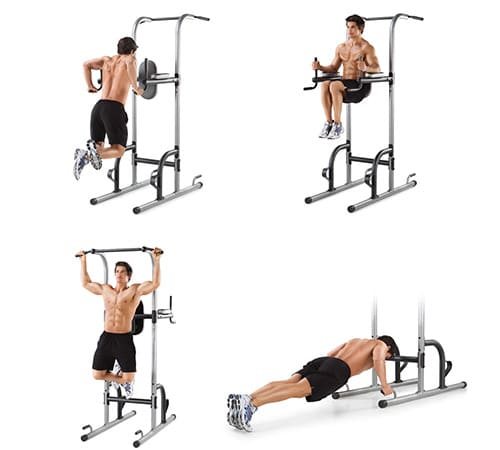 weider power tower exercises