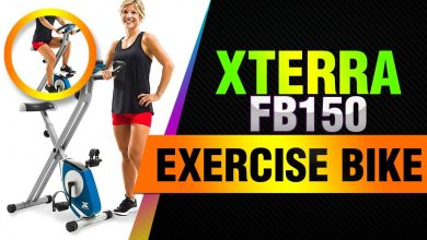 Photo of Xterra Fitness FB150 Folding Exercise Bike Review