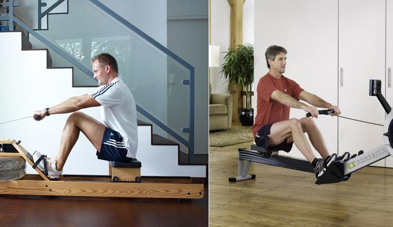 waterrower vs concept 2