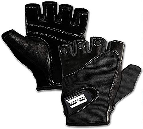 Premium Leather Workout Gloves